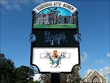 Havering-atte-Bower village sign