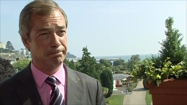 UKIP MEP Nigel Farage