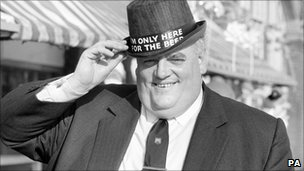 Cyril Smith in 1974