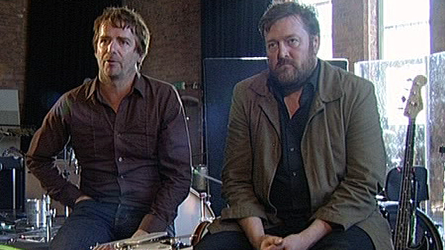 John Bramwell and Guy Garvey