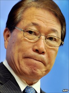 South Korean Foreign Minister Yu Myung-Hwan