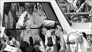 Pope John Paul II in the UK, 1982
