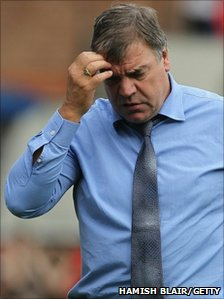 Blackburn Rovers manager, Sam Allardyce