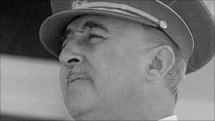 General Francisco Franco in Madrid in 1951