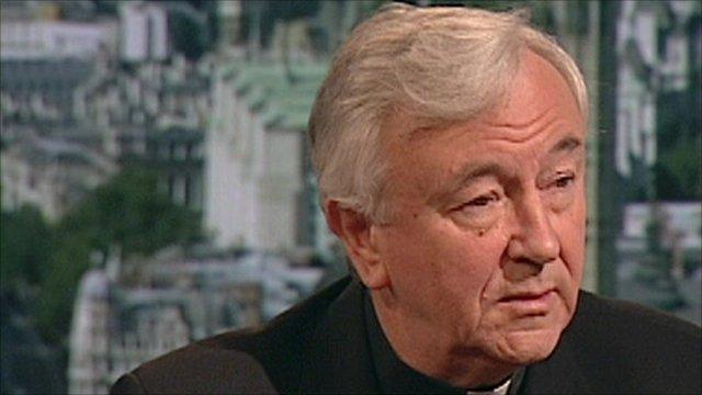 Archbishop of Westminster, Vincent Nichols