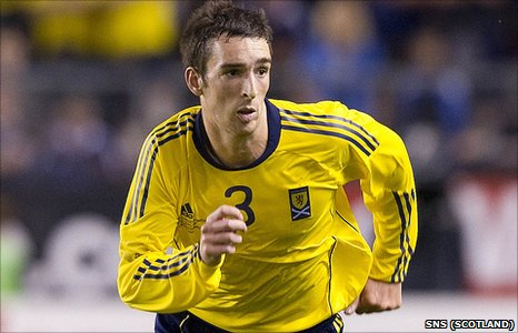 Scotland full-back Lee Wallace