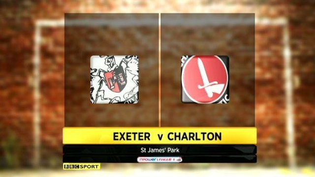 Exeter 1-0 Charlton