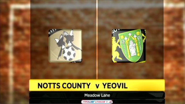 Notts County 4-0 Yeovil Town