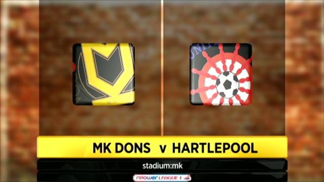 MK Dons 1-0 Hartlepool
