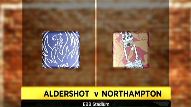 Aldershot 1-1 Northampton