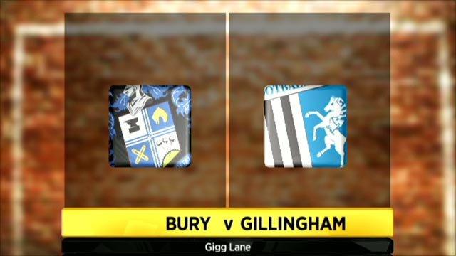 Bury 5-4 Gillingham