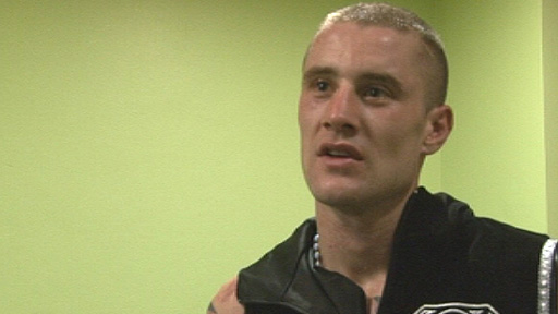 WBO super-featherweight champion Ricky Burns
