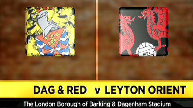 Dag & Red 2-0 Leyton Orient (UK only)
