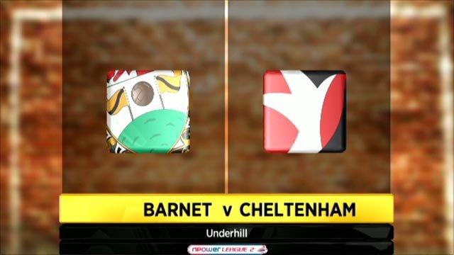 Barnet 3-1 Cheltenham