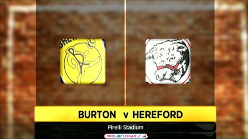 Burton 3-0 Hereford