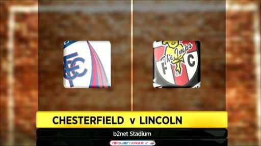Chesterfield 2-1 Lincoln City
