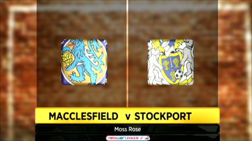 Macclesfield 0 -2 Stockport
