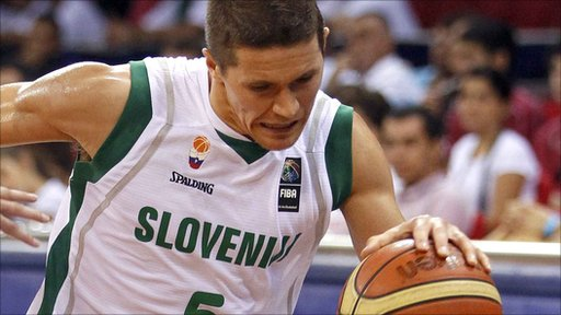 Jaka Lakovic top-scored for Slovenia with 19