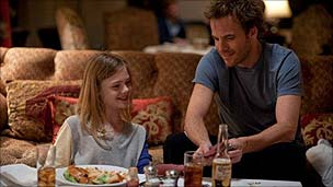 Ella Fanning and Stephen Dorff in Somewhere