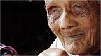 Sek Yim, 120, one of Cambodia's oldest couple