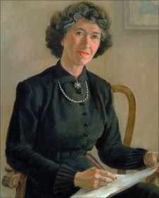 Portrait of Enid Blyton