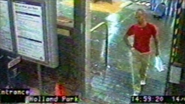 CCTV image of Gareth Williams