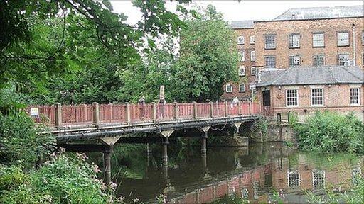 Toll Bridge at Darley Abbey
