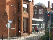 Bury St Edmunds library