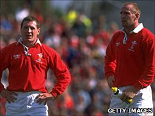 Bateman and Thomas played for Wales in 1997
