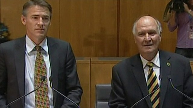 Tony Windsor and Rob Oakeshott