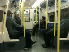 Northern Line tube train