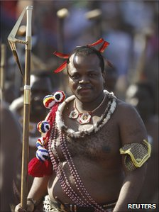 King Mswati III (31/08/2010)