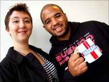 Ros Hanson and Andrew Shim