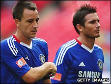 John Terry (left) and Frank Lampard could both return this return