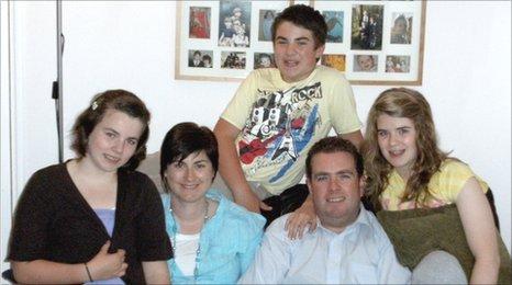 The Wadley family from Cheltenham