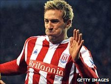 Stoke's Liam Lawrence