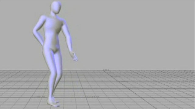 Computer generated dancing