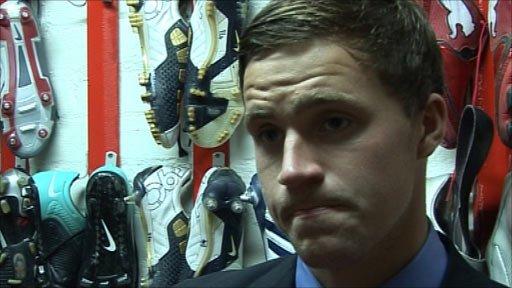 Interview - Scotland under-21 striker Chris Maguire