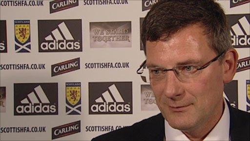 Scotland manger Craig Levein