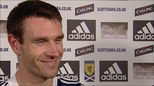 Scotland defender Stephen McManus