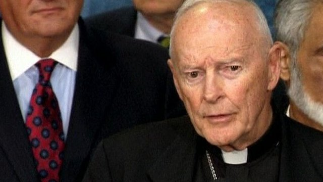 Cardinal Theodore McCarrick, Archbishop Emeritus of Washington