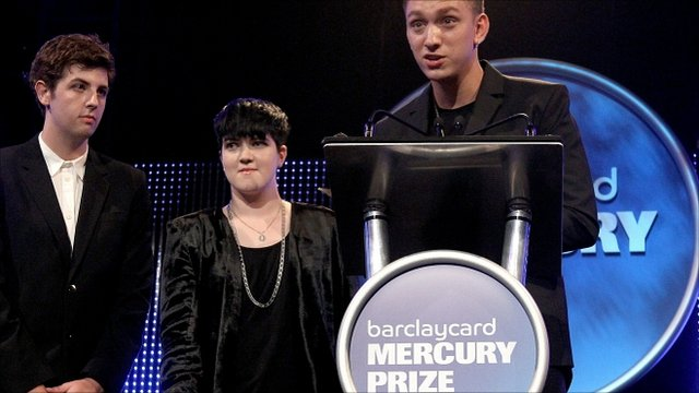The xx are awarded the Mercury Music prize