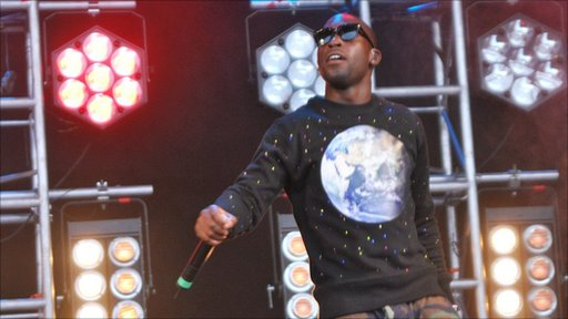 Tinie Tempah at Jersey Live