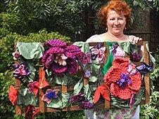 Textile artist Martine Farrant