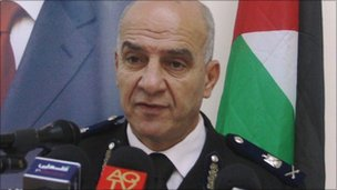 General Adnan Daniri, Palestinian Authority security services