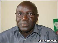 Mazembe coach Lamine Ndiaye