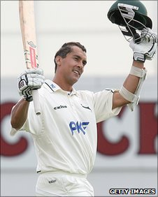 Nottinghamshire batsman Mark Wagh
