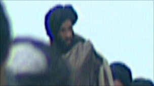 Mullah Omar in Northern Afghanistan in 2001