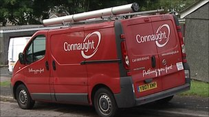 Connaught van