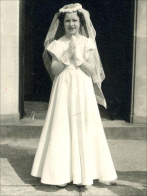 Sue Cox, aged 10